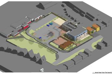 Corringham IMC building plan drawing