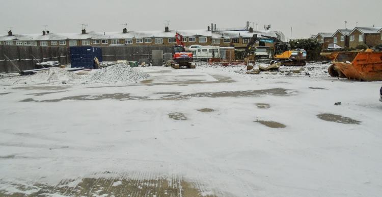 Corringham IMC building work