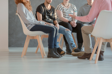 adults attending drug and alcohol support group