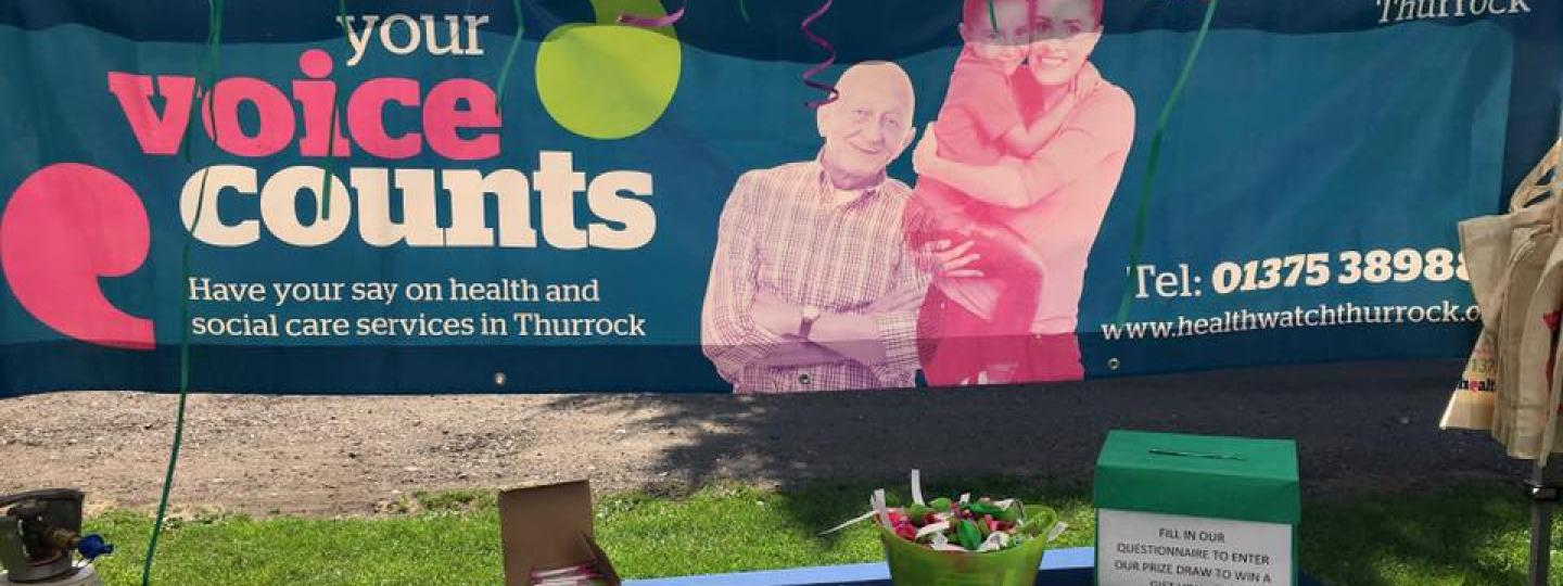 Healthwatch Thurrock Stand